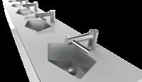 Cмеситель + сушилка для рук Dyson Airblade Tap (2 в 1)