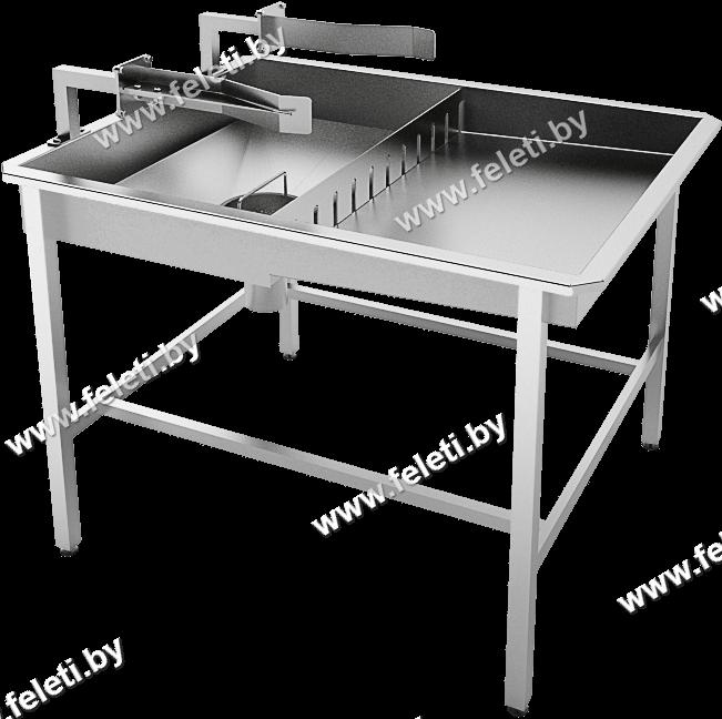 Стол для вскрытия желудков