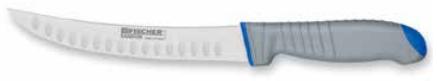 Мясной жиловочный нож с полым краем