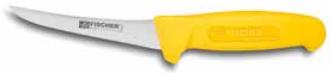 Нож обвалочный с изогнутым жестким лезвием