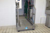 Станция гигиены обуви проходная SNP-1