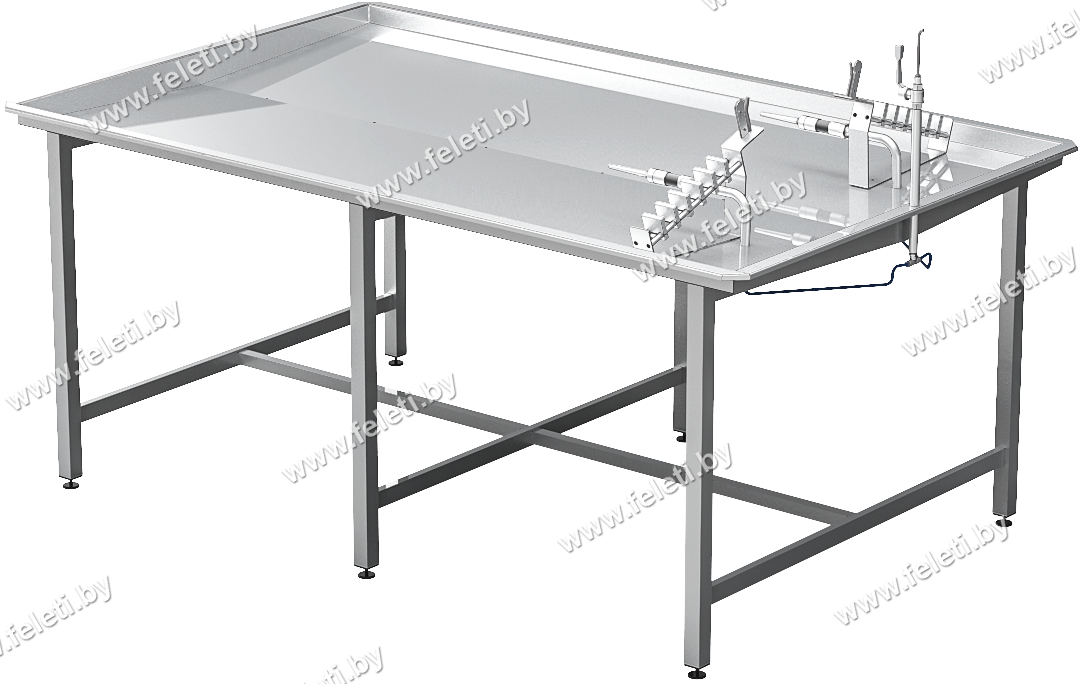 Стол для калибровки и инспекции кишок